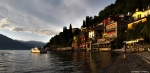 Young Fisherman @ Work / Sunset in Varenna