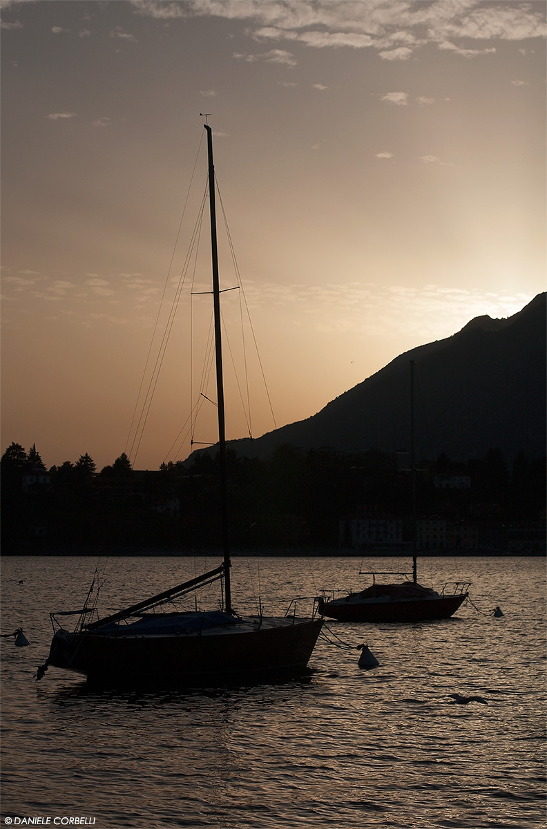 Sunset @ Lecco