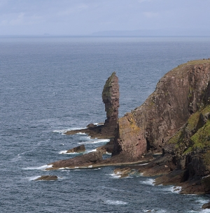 The Old Man Of Stoer - By the Sun